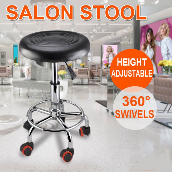 Peachy Salon Stool Hairdressing Barber Chair Beauty Swivel Pu Equipment Lift Caraccident5 Cool Chair Designs And Ideas Caraccident5Info