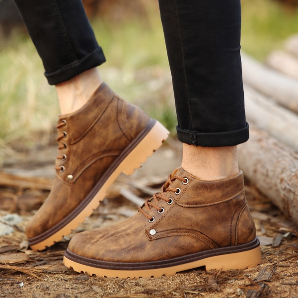 Brands Men Men Boys Shoes Shoes Chaussures Boots ClothingShoes Outdoor 2018 Males New Boots Shoes Short Duarabke for Fashion Arrival Snow Boots USqpVGzM