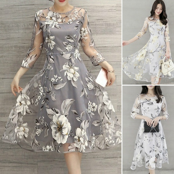 Gray, Flowers, Lace, prompartybeachdre