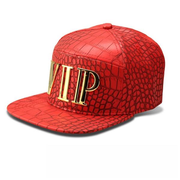 2f9002f425660e Geek | New Vip Caps Hip Hop Panel Baseball Cap PU Leather Hats ...