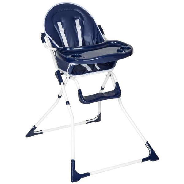 Baby In Kinderstoel.Baby High Chairs Kinderstoel Hochstuhl Chaise Haute Pour Bebe Enfant Confort Pliable Securite A 5 Points Plateau Et Repose Pieds 6 Mois A 4