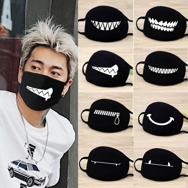 black mask for face