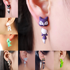 polymer, Fashion, Animal, Stud Earring