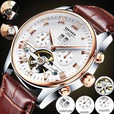 Waterproof Watch, Gifts, Classics, lederuhr