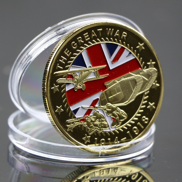 goldplated, Collectibles, platedcommemorativecoin, Jewelry