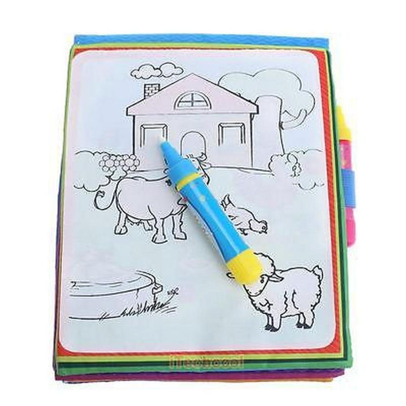 Animal Water Drawing Pen Coloring
