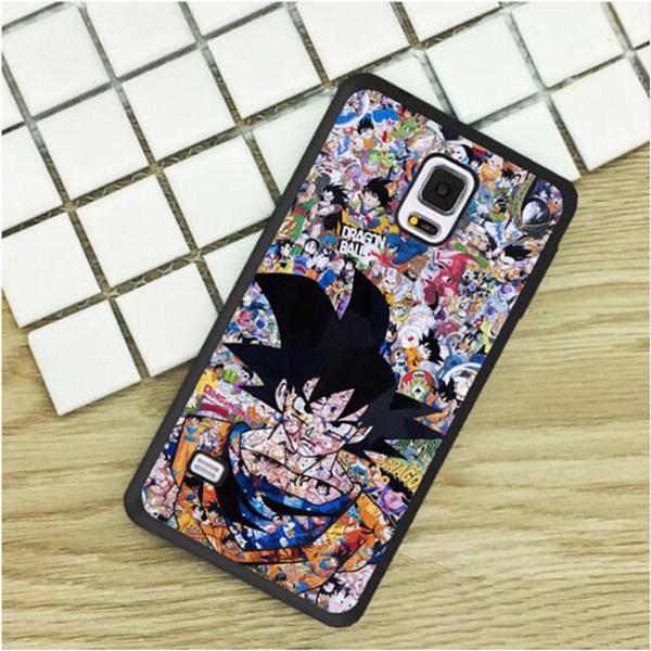 Dragon Ball Z DBZ Anime Collage Pop Art iphone case