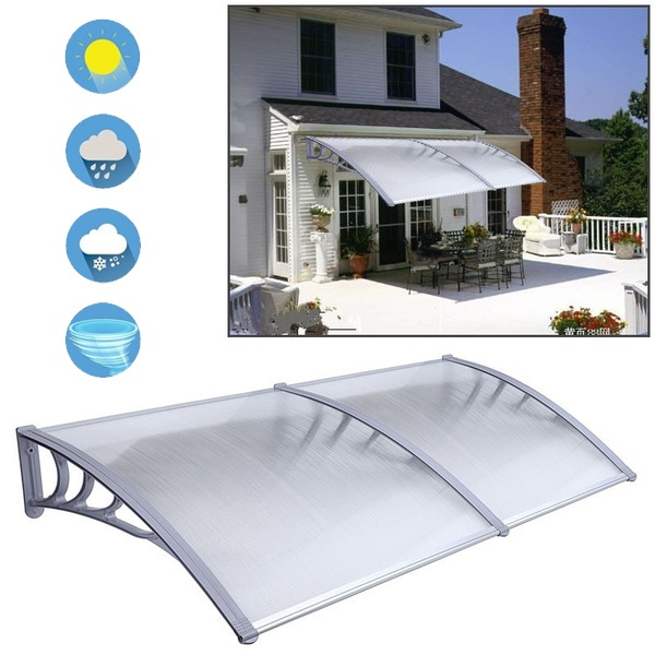 Window Canopy Sun Awning Poly Carbonate