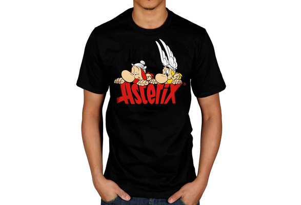 Official Asterix Nosey T-Shirt Punch Cartoon Magic Potion Magnifier Character