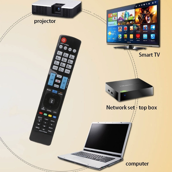 Universal Television Remote Control Replacement For AKB73756565 3D SMART  APPS TV HAR