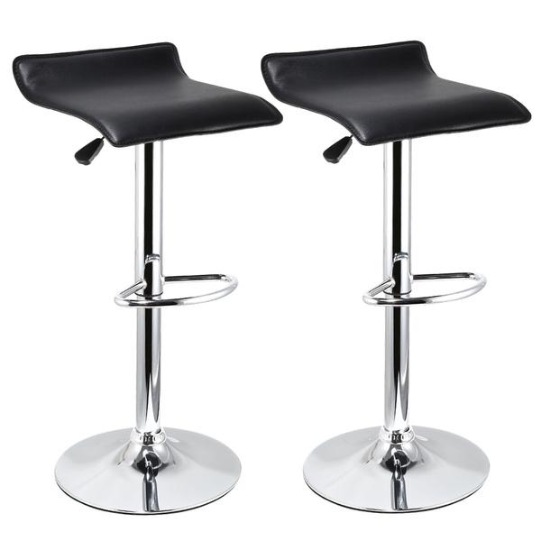 Pleasing 1 Pc 2Pcs Bar Stools Chairs Swivel Footrest Furniture Kitchen Breakfast Bar Stool Fr Frankydiablos Diy Chair Ideas Frankydiabloscom