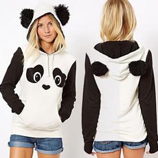 cute, hooded, Coat, fluffy