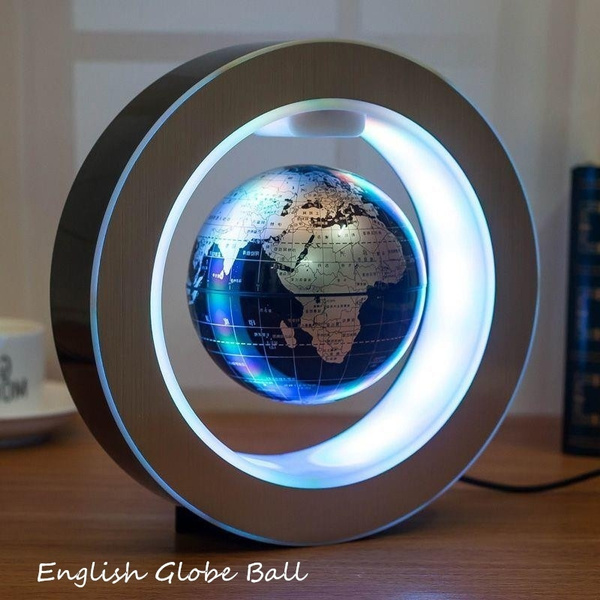 Shape C And O Shape Magnetic Levitation Floating Globe Map LED Light on mp map, erie map, gmo map, southern map, pc map, b&o map, dl&w map, conrail map, milw map, new york central map, penn central map, sou map, canadian national map, northern pacific map, central vermont map, new haven map, nickel plate map, prr map, csx map,