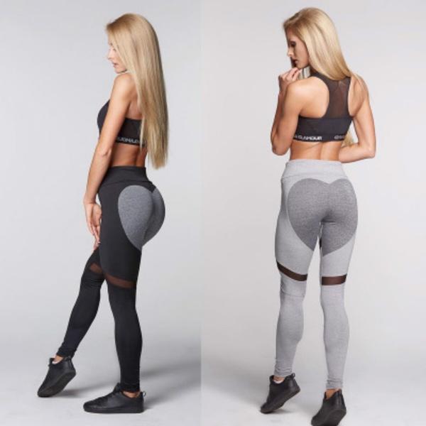 yoga pants and ass