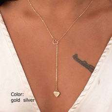 Heart, Chain Necklace, Fashion, Jewelry
