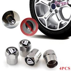 Steel, Car Sticker, Stainless Steel, carwheeltyretirevalvecover