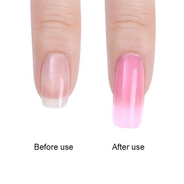 Wish | Nail Forms DIY Quick Builder Gel Nail Tips Extension Glue ...