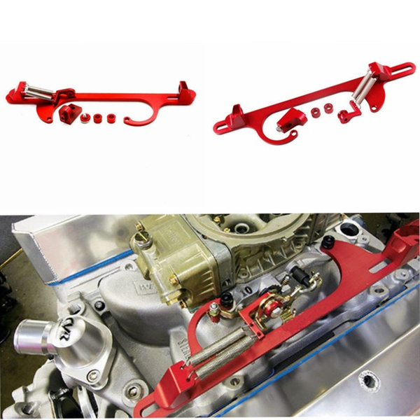 Car Auto Aluminium Throttle Cable Carb Bracket Carburetor for Holley 4150 4160