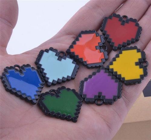 Undertale Sans Frisk LOVE Necklace Determination Bravery Pendant Keychain