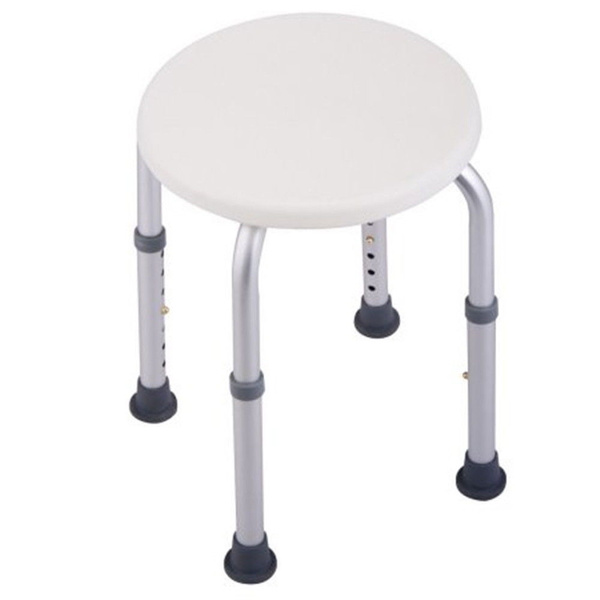 Swell Adjustable Medical Elderly Bath Tub Shower Chair 7 Height Round Stool Seat Without Back Pabps2019 Chair Design Images Pabps2019Com
