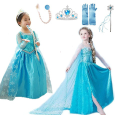 Blues, elsa dress, Cosplay, Encaje