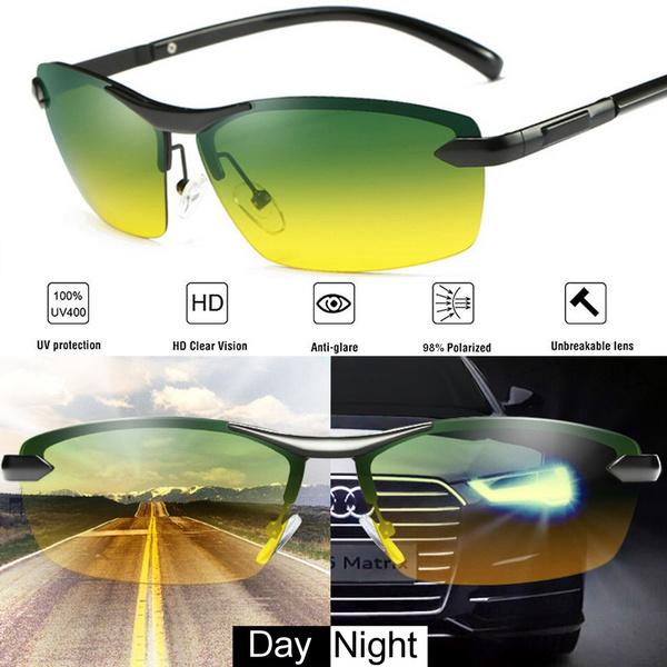 Night Vision Driving Glasses Polarized UV400 Lunettes de Soleil Sport Lunettes Lunettes