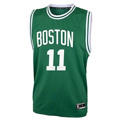 online store 92ab8 1e61f NBA Boston Celtics Kyrie Irving Boys Replica Player Jersey-Road Jersey,  Medium(10-12), Kelly