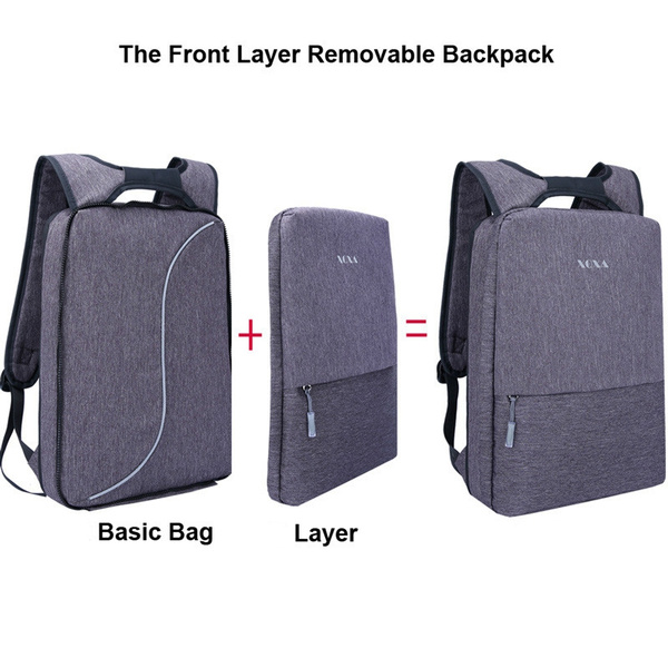 good quality autumn shoes exquisite style Light Slim Backpack Men Lightweight 15.6 Inch Laptop Notebook Backpacks  Waterproof Thin Business Urban Backpack