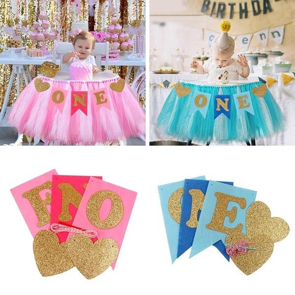 pink, Heart, Glitter, babyshowerbanner