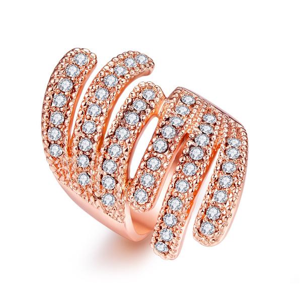 crystal ring, wedding ring, Silver Ring, fashion ring