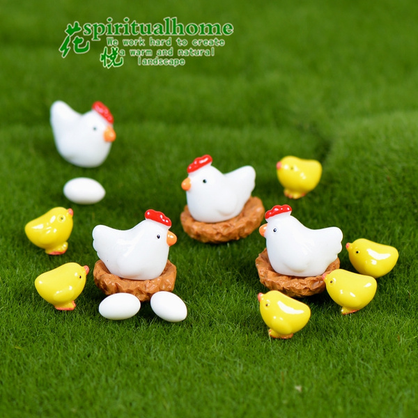 homeandgardendecor, cute, Family, chickeggcoophenmicrolandscape