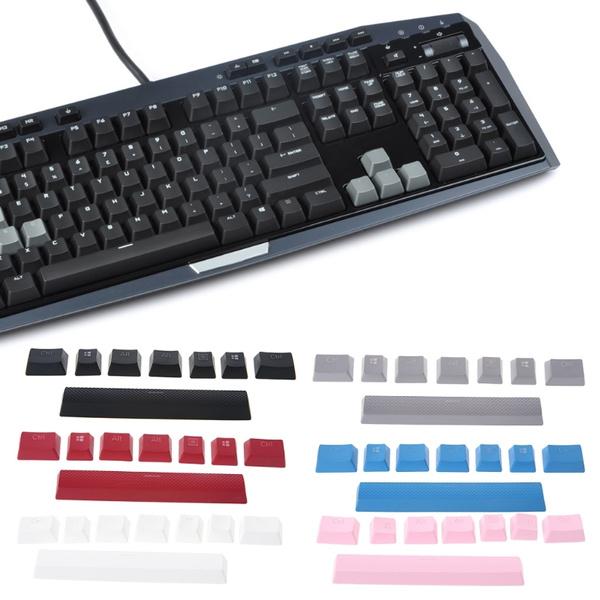 8 keys Double Backlit Additions Keycaps Keycaps For Corsair STRAFE K65 K70  G710 JEF