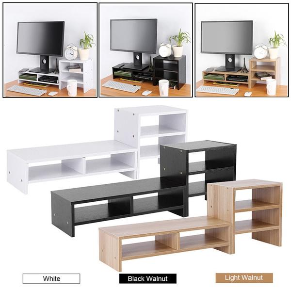 monitorstand, Monitors, computermonitorriser, computerstandstorage