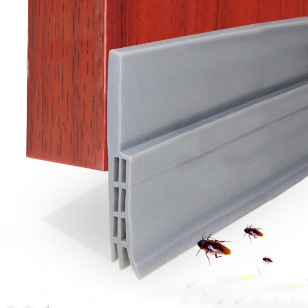 Wish | Under Door Sweep Weather Stripping Door Bottom Seal Strip Door Draft  Stopper
