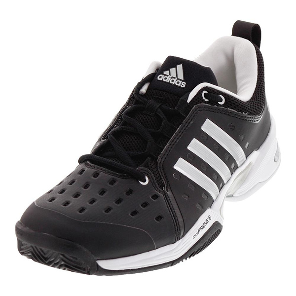 e46b5c57f85 Adidas - Men`s Barricade Classic Wide 4E Tennis Shoes Black and Silver  Metallic - (CP8694-F17)
