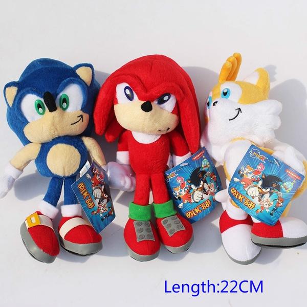 New Arrival Sonic Boom Plush 22cm Super Sonic Plush Toys Cartoon Tv Sonic The Hedgehog Plush Toys Wish