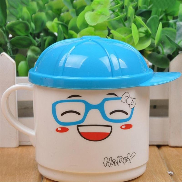 1Pcs 200ml Infant Baby Feeding Cup Milk with Handle Children Cute Cartoon  Animal Baby Kids Cup Kids Learning Cup