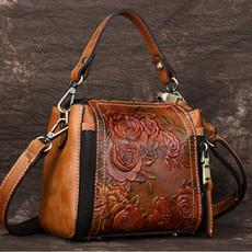 Shoulder Bags, Fashion, hacoachembossedbag, Totes