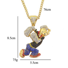 Steel, Stainless, hip hop jewelry, Stainless Steel