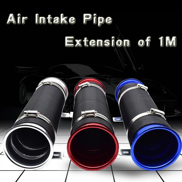 3 Inch Universal Multi Flexible Adjustable Cold Air Intake Pipe Hose Tube kit