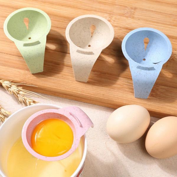 Bakeware Gadget Egg Yolk Separator Egg Sieve Device Mini Kitchen Tools