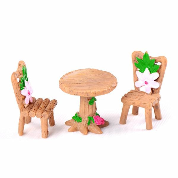 Bonsai, Garden, dollhouseminiature, Wooden