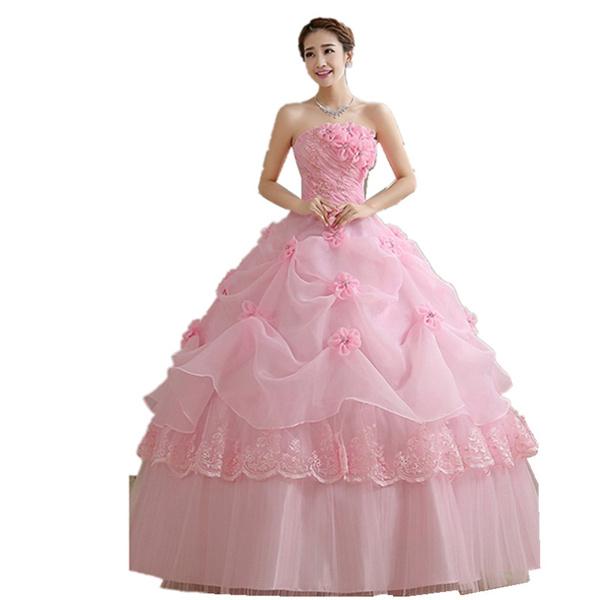Vestidos De Quinceañera Rosa Vestidos De 15 Años Largo Sin Hombro Vestidos Para 15 Años Vestidos Para Fiesta Rosa