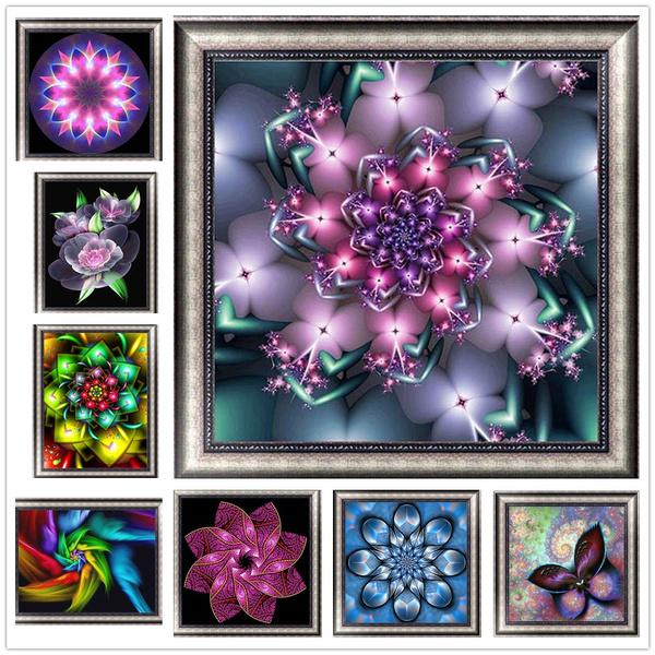 crossstich, Flowers, Jewelry, canvaspainting