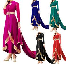 long skirt, Muslim, Medieval, Evening Dress
