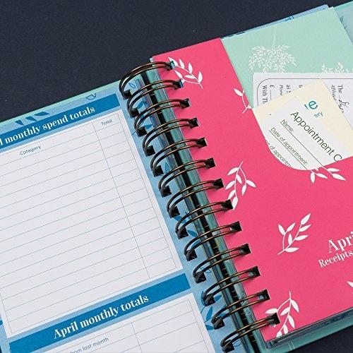 wish budget book monthly bill organizer bill tracker budget