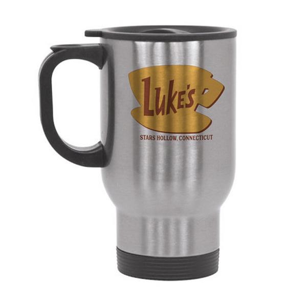 Luke s Diner Travel Mug Gilmore Girls Travel Mug Stars Hollow Lorelei Rory Luke s Diner Coffee 14oz Travel Mug
