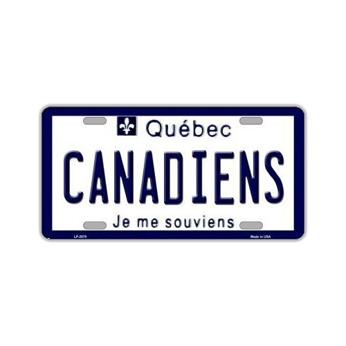 COOL HOCKEY DECOR NHL® Montreal Canadiens License Plate