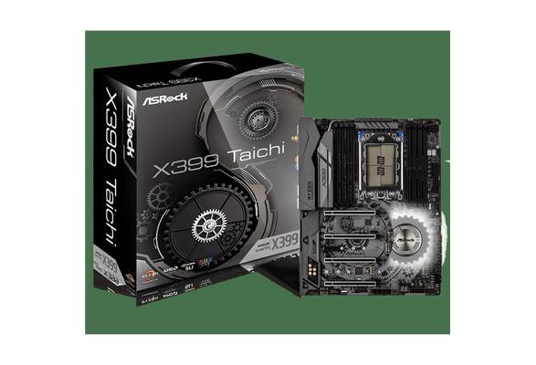 ASRock X399 TAICHI Motherboard AMD TR4 Max 128MB DDR4 PCIE USB SATA ATX
