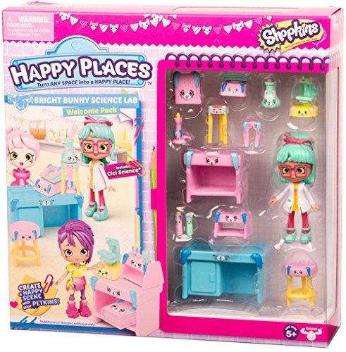 Bright Bunny Science Lab Happy Places Shopkins Season 3 Welcome Pack